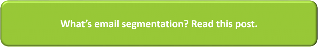 What is email segmentation?