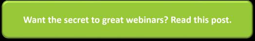 Using webinars in your marketing