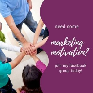 Facebook group small business marketing motivation