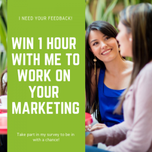Win one hour of small business marketing advice