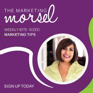 The Marketing Morsel bite-sized marketing tips