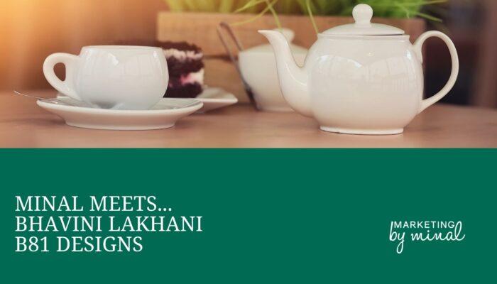 Bhavini Lakhani, B81 Designs, Milton Keynes, Branding