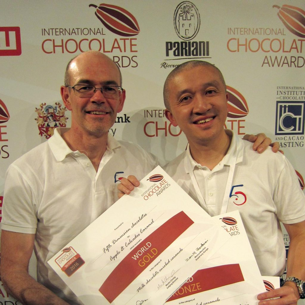 Russell Pullen, Albert Chau, Fifth Dimension Chocolates