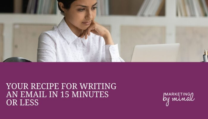 Writing email in 15 minutes