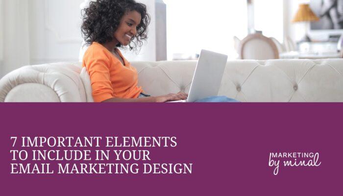 Design email marketing newsletter