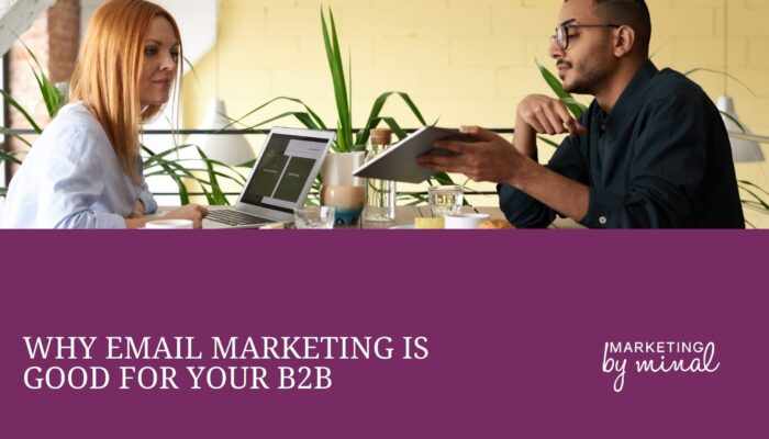 Email marketing B2B. how to use email marketing if you're a B2B